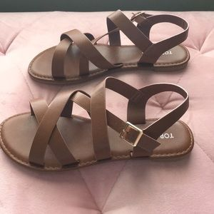 Strappy Sandals by Top Moda